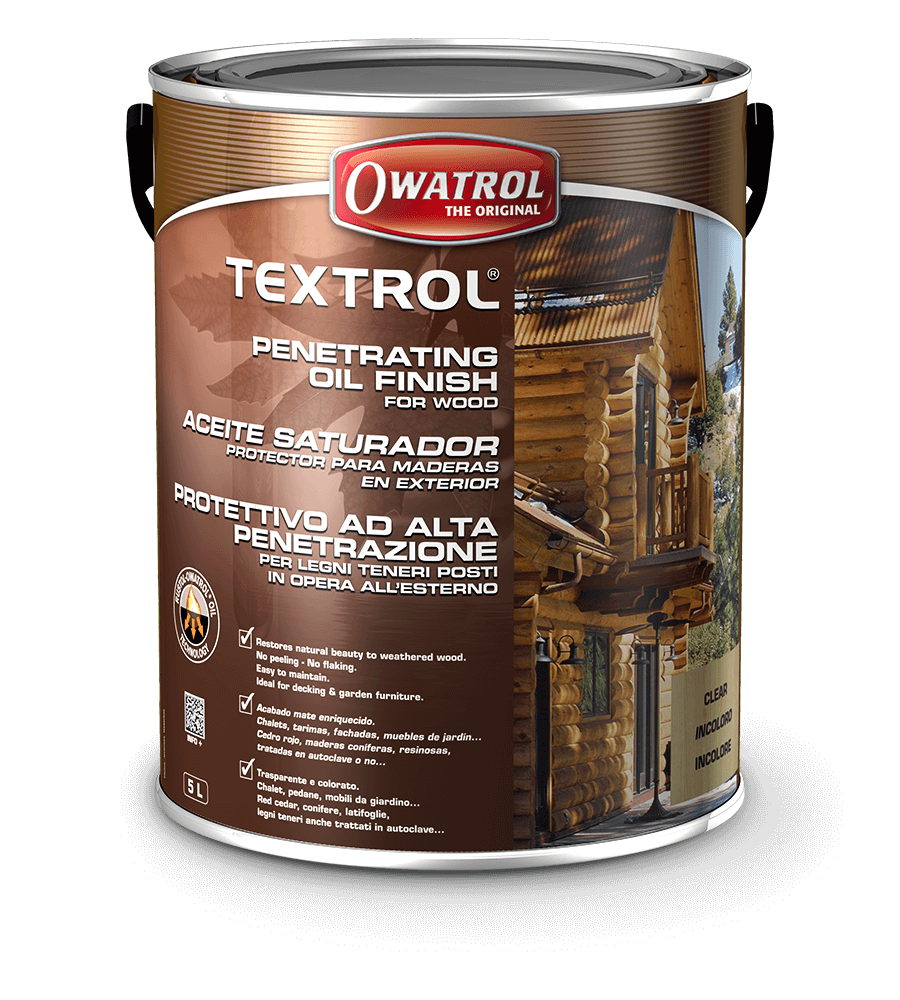 Textrol Long Lasting Penetrating Wood Oil Finish