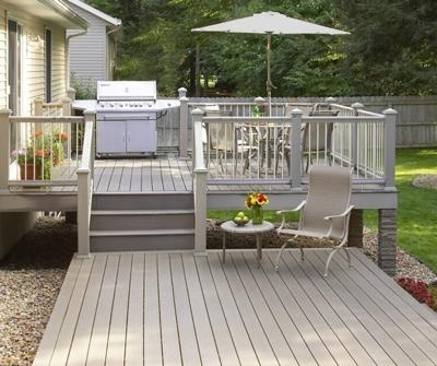 Decking guide inspiration for your decking owatrol direct for Simple platform deck plans