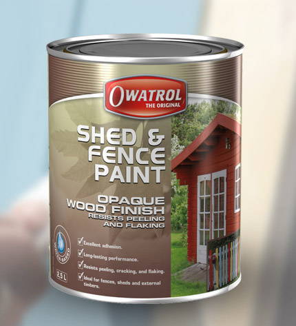 Shed Fence Paint Owatrol Direct