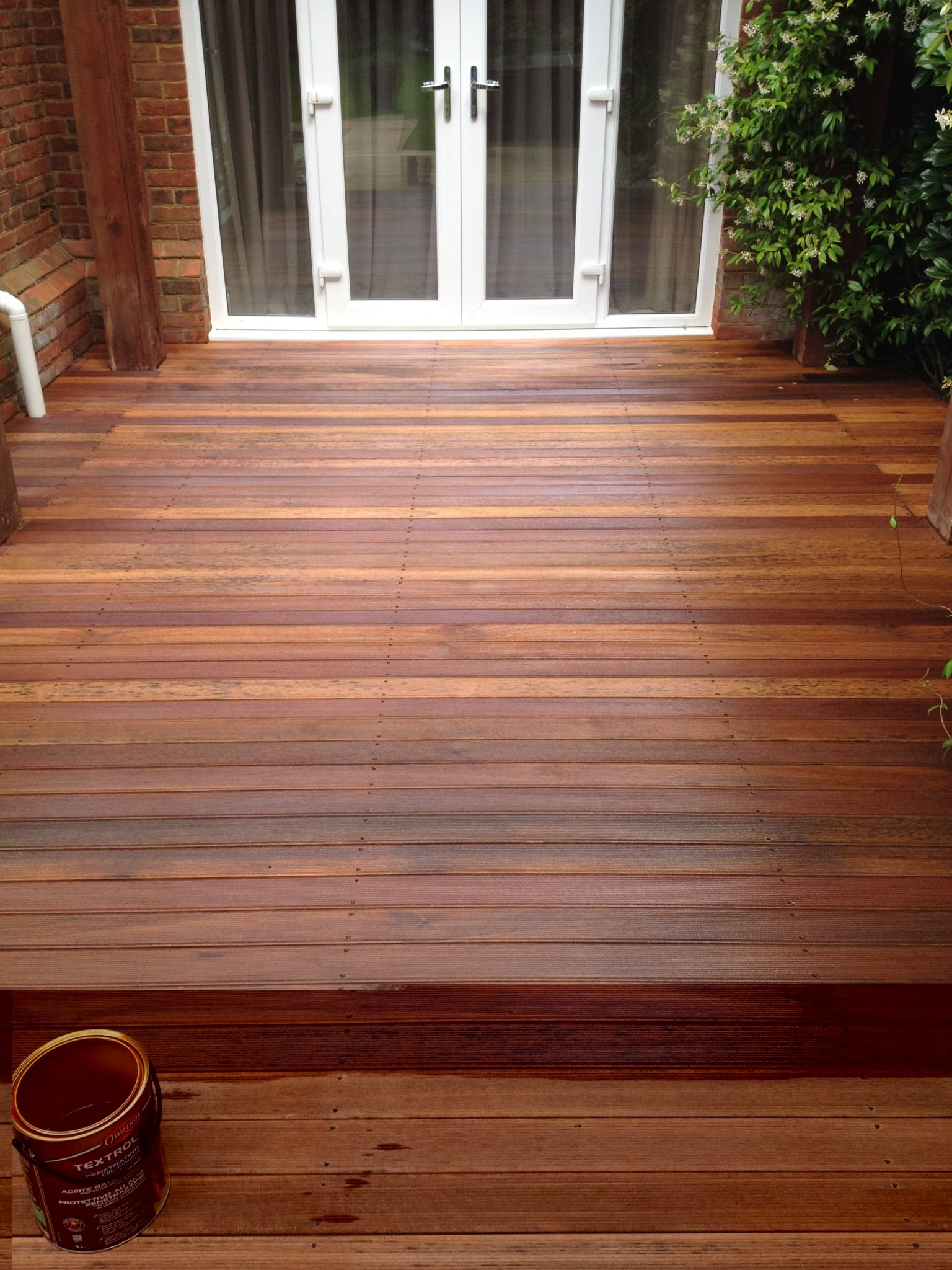 5 amazing decking transformations with textrol owatrolusa for Garden decking projects