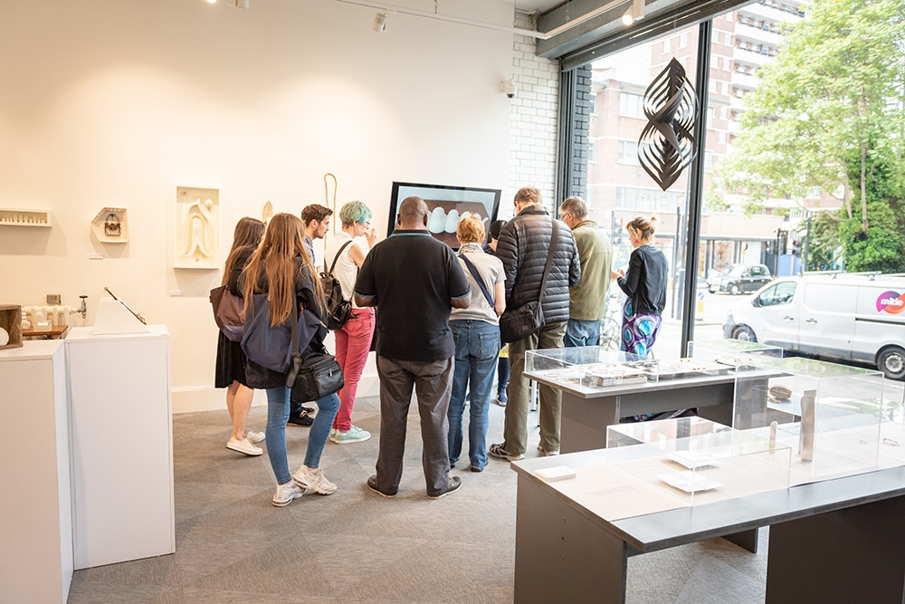 Live demonstration taking place at Clerkenwell Design Week