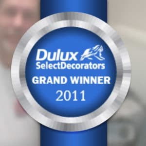 Dulux select decorators grand design winner 2011