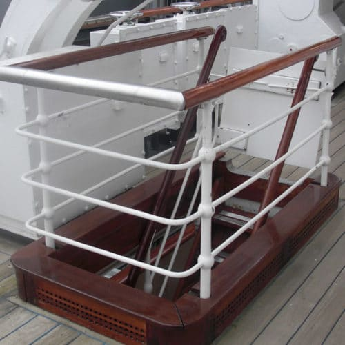 Royal Yacht maintained with Owatrol products