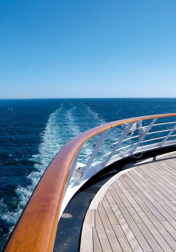D1 boat at sea