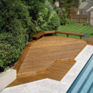 Aquatrol applied to a pool deck
