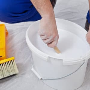 Mixing Floetrol into paint