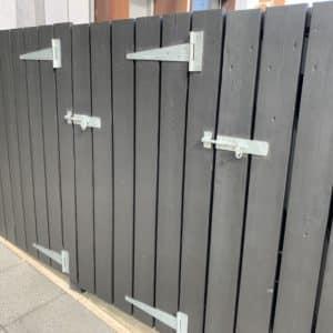 Bin storage unit after application of SCS in Black