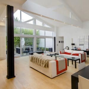 Oleofloor on loft flooring