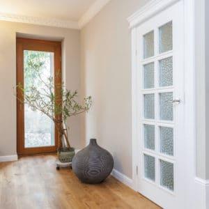 Oleofloor on corridor flooring
