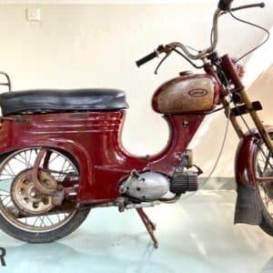 After Polytrol on antique bike