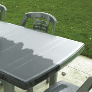 Polytrol colour restorer used on garden furniture