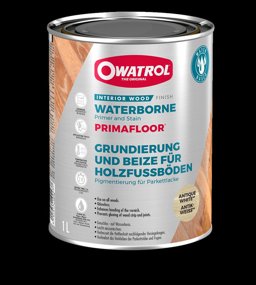 Primafloor packaging