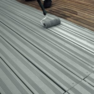 Application of SCS on a garden deck