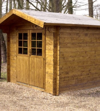 Seasonite used to protect shed