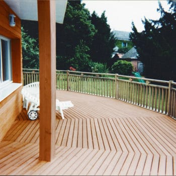 Deck and cladding protected with Textrol