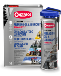 Transyl can and spray packaging