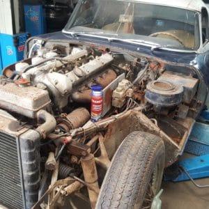 Transyl used on a car engine