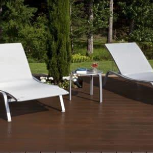 Tropitech Sedona on a deck