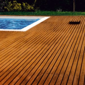 Decking finished with Owatrol products