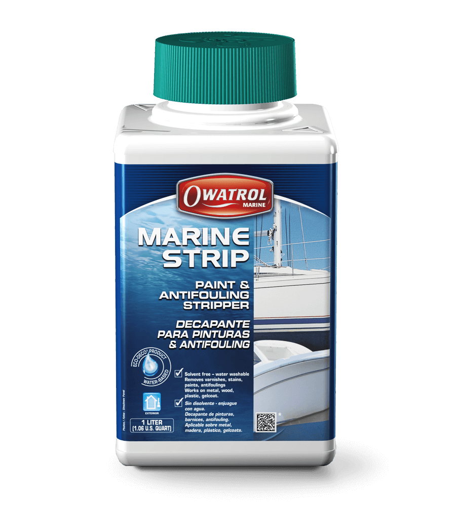 Model Paint Remover Solvent-free paint and antifouling stripper for marine use