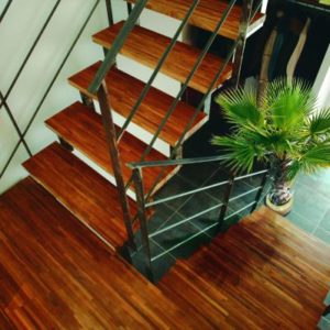 Oleofloor on staircase