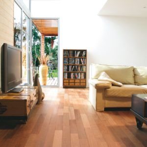 Oleorfloor on living room floor