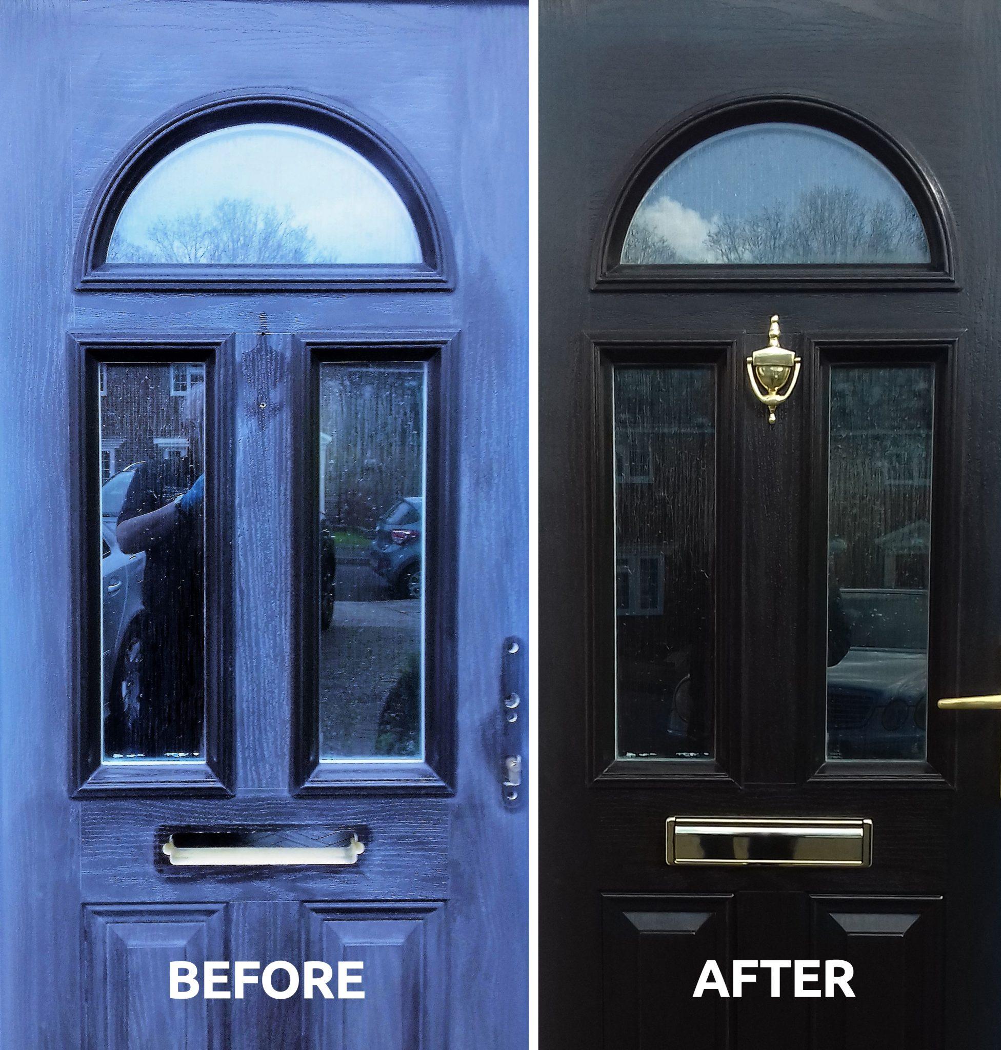 How to revive a composite front door | Owatrol Direct