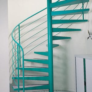 Owatrol Deco used on interior metal staircase