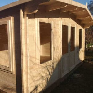 Apply Seasonite to a new garden office space
