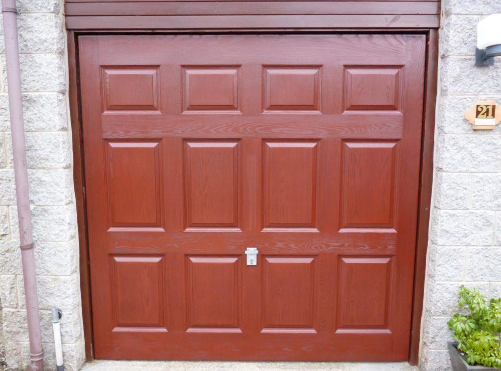 Polytrol used on Garage door