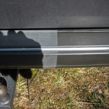 Polytrol Car Bumper Before and After