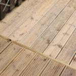 Strip old decking