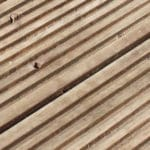 strip old decking wood