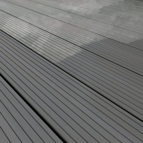 clean and maintain composite decking