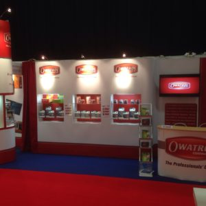 Owatrol stand at the NPD