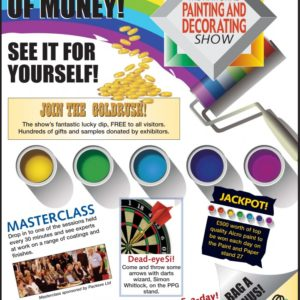 paint show planner - painting and decorating show