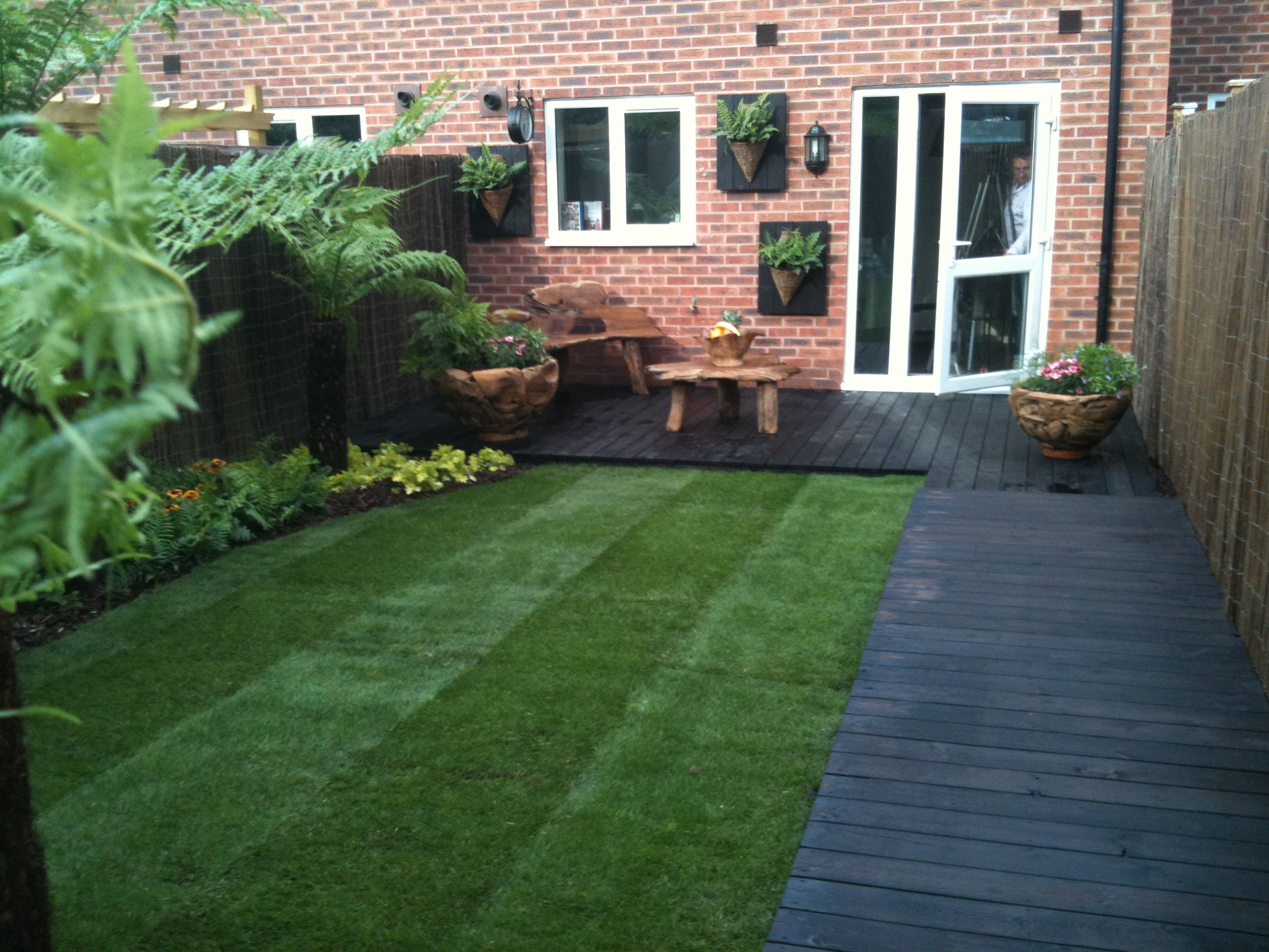 Case Study Using Textrol On Japanese Burnt Timber Decking