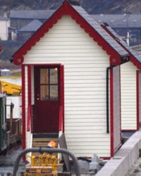 Ffestiniog Railway with application of SCS