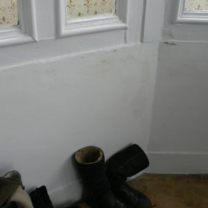 Wall With Damp Problem Resolved