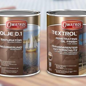 D1 Deks Olje D.1 and Textrol