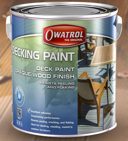 Decking paint - Long lasting exterior paint design ...