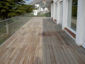 IPE Coastal Deck During Net-Trol