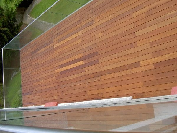 Ipe coastal deck finished with Texrol