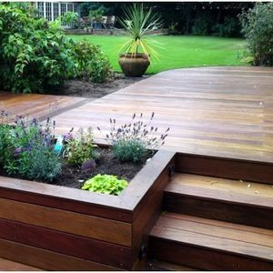 Decking guide inspiration for your decking owatrol direct for Garden decking ideas uk
