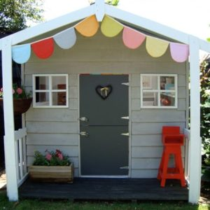 wooden playhouse ideas