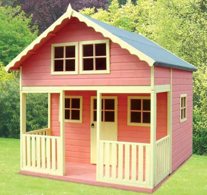 Great children 39 s wooden playhouse ideas owatrol direct for Kids outdoor playhouse