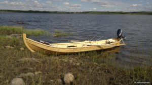 boat finished in Deks Olje