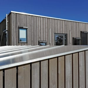 H4 Wood used on cladding