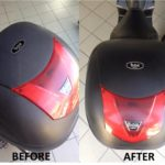 Moto 2 before and after