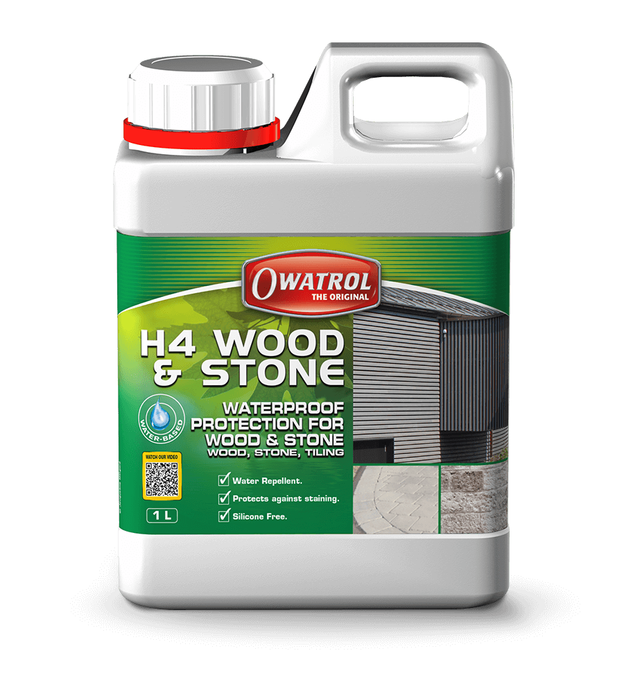 H4 Wood and Stone 1L packaging
